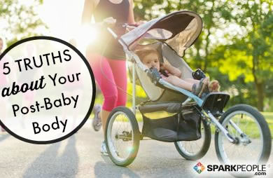 What Nobody Tells You About Getting Back Into Shape after Baby