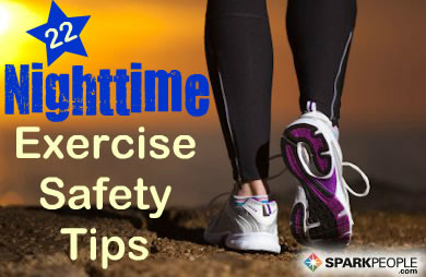 Safety Tips for Nighttime Exercisers