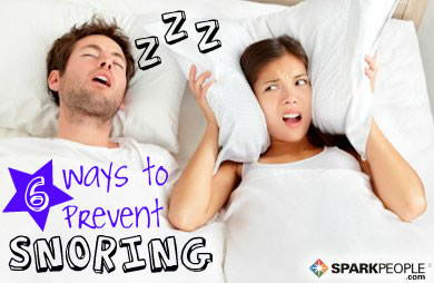 6 Ways to Prevent Snoring