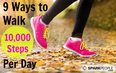 9 Ways to Get 10,000 Steps a Day