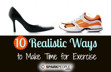 10 Ways to Find Time for Exercise